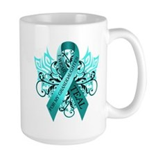 I Wear Teal Mug