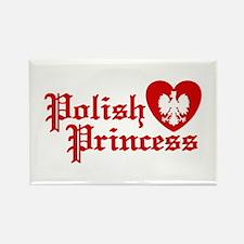 Polish Princess Rectangle Magnet