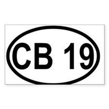 CB Channel 19 Decal