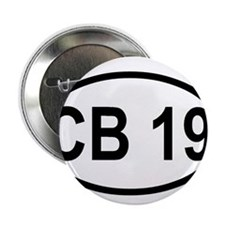 "CB Channel 19 2.25"" Button"