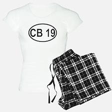 CB Channel 19 Pajamas