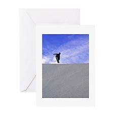 Big Air Blue Sky Greeting Card