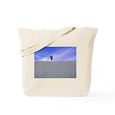 Big Air Blue Sky Tote Bag