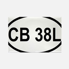 CB 38L Rectangle Magnet