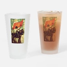 Joan of Arc Drinking Glass