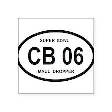 CB 06 SUPERBOWL Sticker