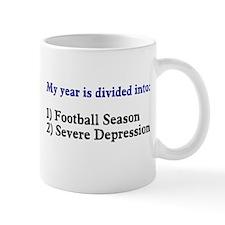 Football Severe Depression Mug