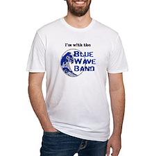 Blue Wave Band Mom T-Shirt