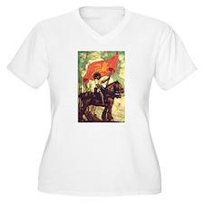Joan of Arc Plus Size T-Shirt