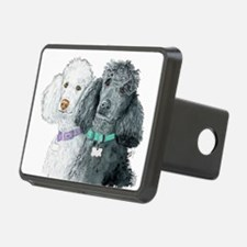 Two Poodles Hitch Cover