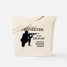 Cute Marine son in law Tote Bag