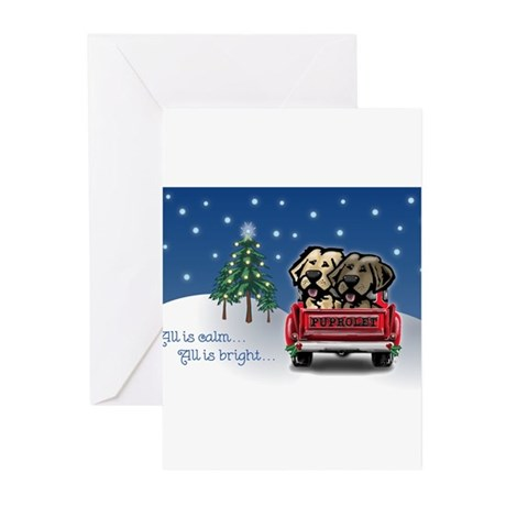 Puprolet Christmas Greeting Cards