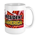 Bacon Lard Bless America Large Mug