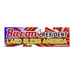 Bacon Lard Bless America 20x6 Wall Decal