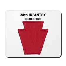 28th INFANTRY DIVISION Mousepad