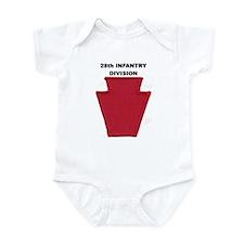 28th INFANTRY DIVISION Infant Bodysuit