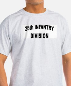 28th INFANTRY DIVISION Ash Grey T-Shirt