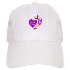 Proud Nanna Heart Baseball Cap