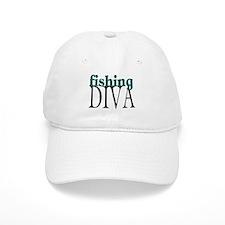 Fishing Diva Baseball Cap