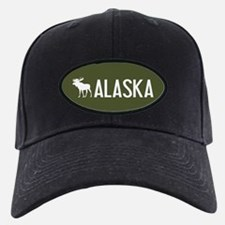 Alaska Moose Baseball Hat