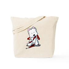 LET'S GO! Westie Tote Bag