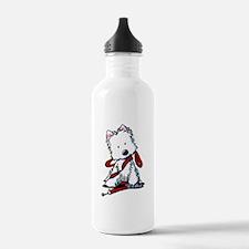 LET'S GO! Westie Water Bottle