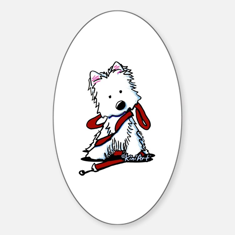 LET'S GO! Westie Decal