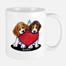 Beagle Heartfelt Duo Mug