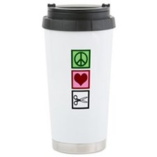 Cute I love scrapbooking Travel Mug