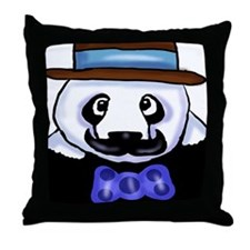 Gondolier Panda Throw Pillow