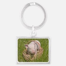 Landscape Keychain - Small Pig
