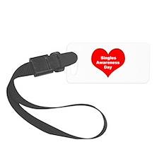 Singles Awareness Day Luggage Tag
