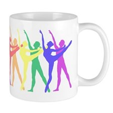 Ballet Rainbow Mug