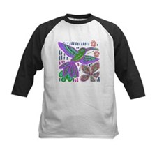 CRAZY ABOUT HUMMINGBIRDS Baseball Jersey