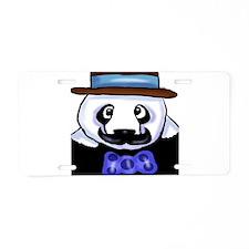 Gondolier Panda Aluminum License Plate