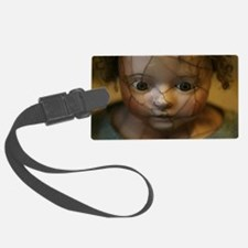 Funny Scary doll Luggage Tag