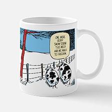 Snowbound Cattle Mug