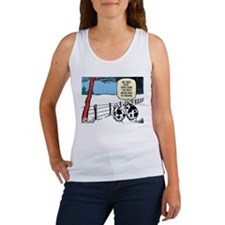 Snowbound Cattle Women's Tank Top