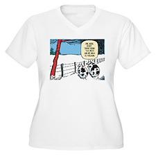 Snowbound Cattle T-Shirt