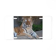 Bengal Tiger Aluminum License Plate