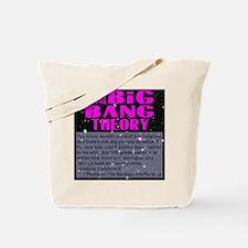 Big Bang Theory Quote Tote Bag