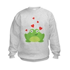 Frog in Love Sweatshirt