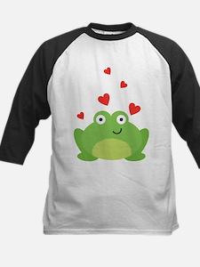 Frog in Love Baseball Jersey
