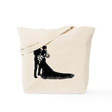 Elegant Couple Tote Bag