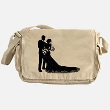 Elegant Couple Messenger Bag