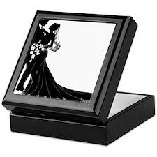 Elegant Couple Keepsake Box