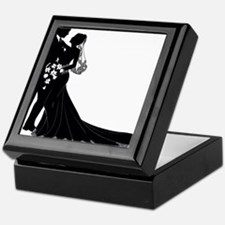 Elegant Couple Keepsake Box