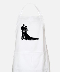 Elegant Couple Apron