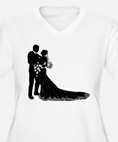 Elegant Couple Plus Size T-Shirt