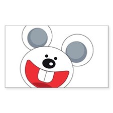 Grinning Mouse Decal